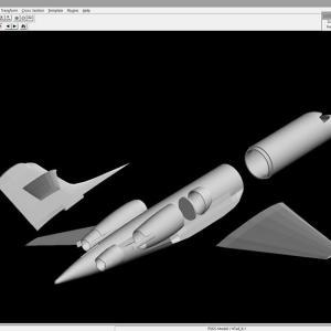 航空自衛隊 U-4 プラモデル