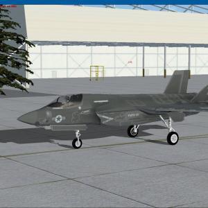 Flight Simulator    岩国基地が賑やかになった!