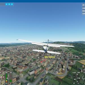 """< Flight Simulator 2020 """"My Home"""" >"""
