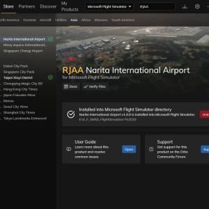 Flight Simlator   成田国際空港