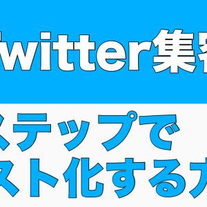【Twitterマーケティング】やることは至ってシンプル、読む人に自分をアピールしろ。