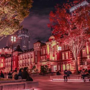 東京駅のディズニー広告の場所はどこ?ディズニーツイステッドワンダーランド