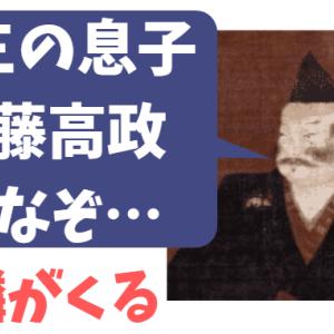 斎藤義龍(高政)の本当の父親は道三?土岐頼芸?(母は深芳野)