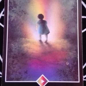 本日の開運㊗️一枚メッセージは虹のペイジ