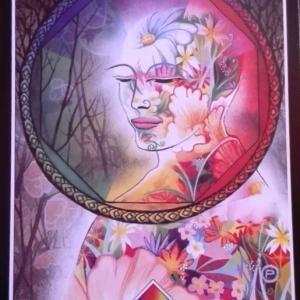本日の一枚メッセージは虹のエース
