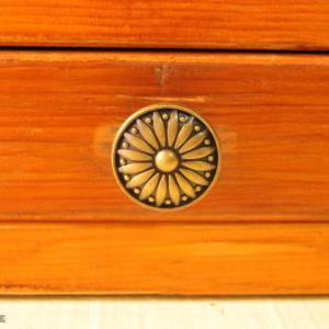ゴチャゴチャ集めたスタンプの収納先「裁縫箱」に収める!