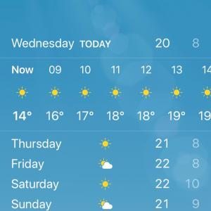 月末はいつも寒い