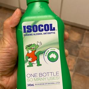 オーストラリアの消毒の定番?ISOCOL (アイソコール)