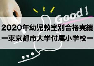 【2020年最新】東京都市大学付属小学校ー幼児教室別合格実績・入試倍率(2019秋実施)