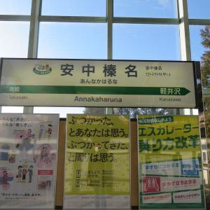 週末プチ旅行記 〜新幹線のちょっと地味な駅 安中榛名駅〜
