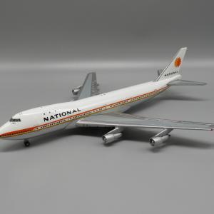 モデルプレーン ジェミニジェッツ 1/400 〜ナショナル航空のB747-100〜