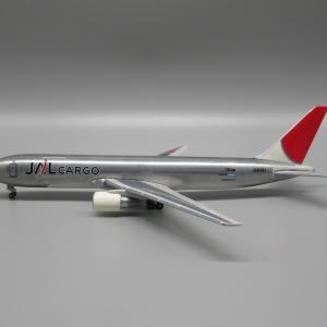 JAL旅客機コレクション No.22 〜メタルカラーのB767-300F〜