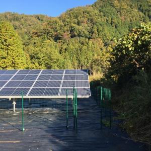 【太陽光】第9発電所 名張②