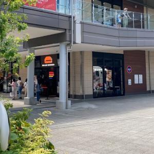 ウマミバーガー 南町田グランベリーパーク店でウマミバーガーを食べる(東京都町田市)