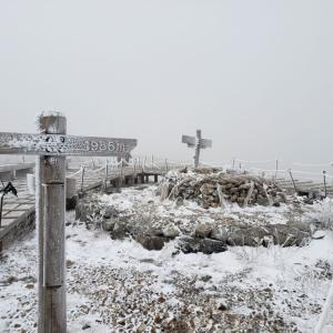徳島で一番高い山!「剣山」の冬景色