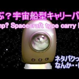 犬猫宇宙船ペット用キャリーリュックサック/バッグ 面白い動画