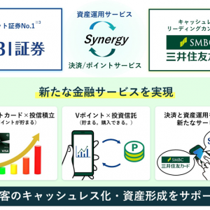 SBI証券×三井住友カードでポイント投資が2021年に開始(Vポイント投資)