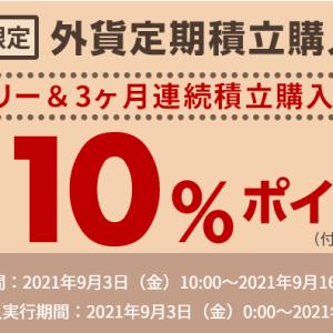 楽天銀行の外貨積立預金で10%ポイント還元のキャンペーン攻略