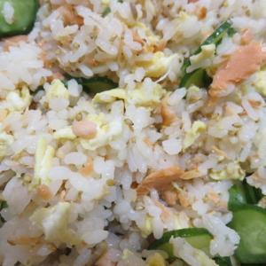 鮭と卵ときゅうりの混ぜ寿司(きのう何食べた?)