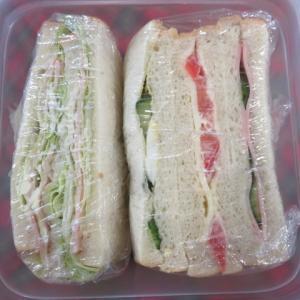 レタス食べるならサンドイッチ。