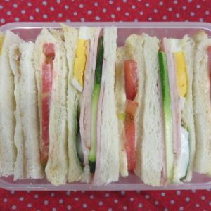サンドイッチ(ズッキーニ)