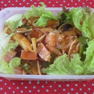 彩野菜のナポリタン
