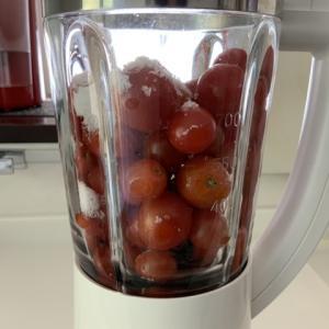 ミニトマトで作るトマトジュース、そろそろ終了?