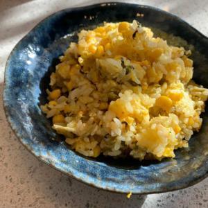 【オイシックス/oisix】富士山麓たまごと九州産高菜油炒めを使ったチャーハン
