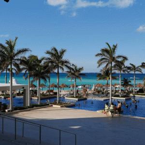 【③地理】カンクン、空港、ハイアットジーヴァカンクン(Hyatt Ziva Cancun)の位置関係
