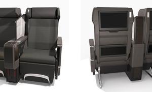 ANAの国内線、普通席にモニター付きの新シートを導入。プレミアムクラスの増席も実施