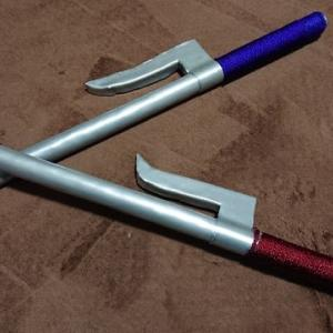 小道具の十手作成。