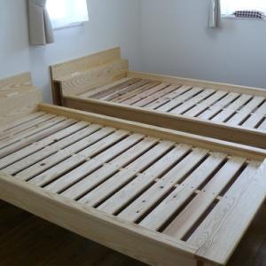 毎日が快適で健康な暮らしに ホワイトアッシュ材健康畳ベッド