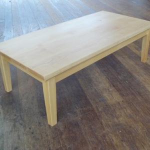 イエローバーチ材(カバ材)リビングこたつテーブル