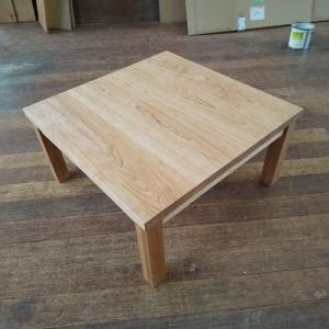 ブラックチェリー材の品格と味わい深さのこたつテーブル