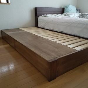 シングルベッド引き出し収納 ヘッドレス