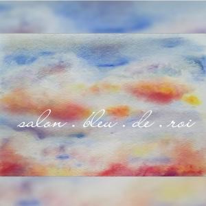 パステル画『雲』