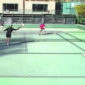 テニス|ダブルスの動きがわからない初心者が身につけるべき前衛のポジション