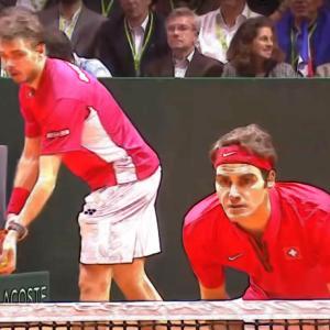 テニス|ダブルスで反応が鈍い時はスプリットステップのタイミングを意識する