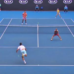 テニス|ダブルスが苦手な中級者が身につけるべき【雁行陣セオリー】詳しく解説