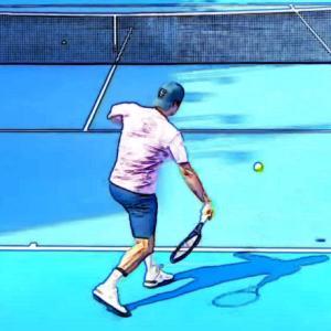 テニス|フォアハンドストロークでラケットヘッドを下げるコツ!手首の使い方を解説