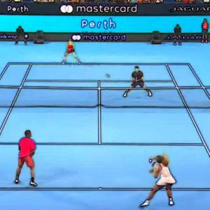 テニス中級者【前衛で速いリターンにボレーができない】反応するコツ