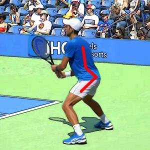 テニス|フォアが不安定な中級者が習得したい一流選手が行う骨盤傾斜とは?