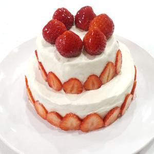 【ぽや家のクリスマスケーキ】今年は自作しましたよ