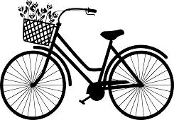 キャンパスと自転車