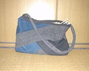 ジーンズのバッグ