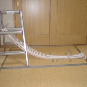 手製の織機(2)
