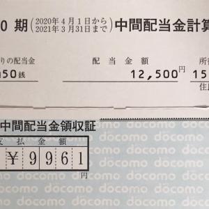 11月25日現在の含み損&ドコモから配当金