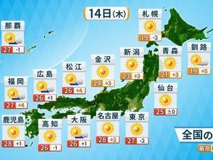 台風1号 週明けに沖縄接近か