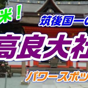 【神社仏閣】久留米市の筑後国一の宮「高良大社」へ参拝!国指定の重要文化財で九州最大の社殿をもつ神社!