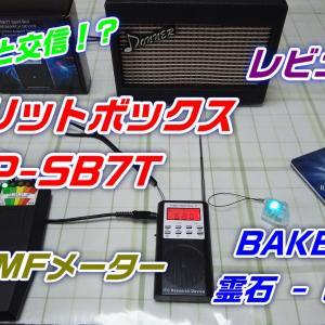 【幽霊と交信!?】機器(1/4)「Spirit Box P-SB7T スピリットボックス FM・AM」★レビュー!